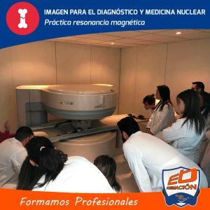 prácticas de ecografía resonancia magnética