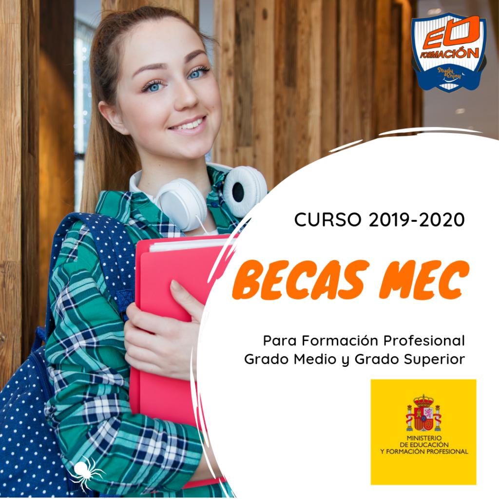 solicitud de becas MEC 2019-2020