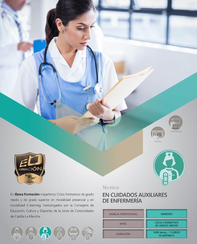 fp online auxiliar enfermería