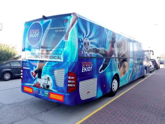 autobus de ebora formacion