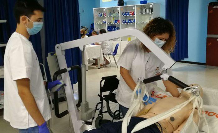 Técnicas movilización e inmovilización del paciente encamado