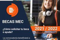solicitud becas mec 2021 2022